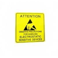 Quality Self Adhesive Electronic Product Label For Electrical Warning Attention for sale