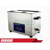 Buy 30L Precision Electronic Parts Ultrasonic Cleaners Normal Temperature at wholesale prices