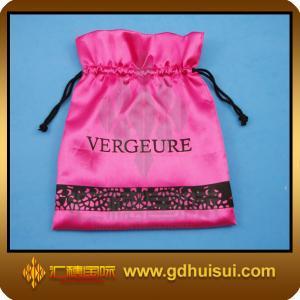 Quality velvet fabric gift bags for sale