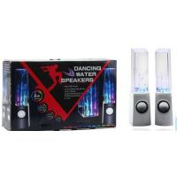 Quality colorful lighting LED USB water dancing speakers with normal box package for sale