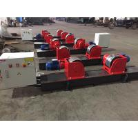 Quality Bolt  Adjustment Conventional Pipe Welding Rollers 40 Ton Load Capacity for sale