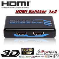 China 1x2 port HDMI Splitter 3D 1080P  PET0102 for sale