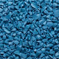 Quality Anti - Static TPV Rubber Granules , Water Permeable Recycled Rubber Crumb for sale