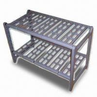Quality Two-tier Extendable Plastic Rack with Slot-together Frame, Easy to Assemble for sale