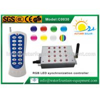Quality Synchronization LED Light Controller With Handset For RGB Underwater Light for sale