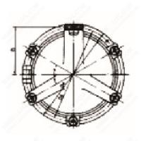 Quality GB/T14413-93 Ship Side Scuttles for sale