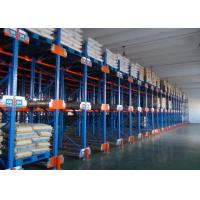 Quality Multi Level Durable Steel Shuttle Storage System For Storage Irregular / Shape Goods for sale