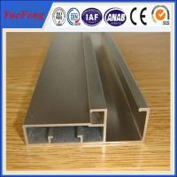 Quality aluminium profile system in China factory,aluminium frame profile for glass for sale