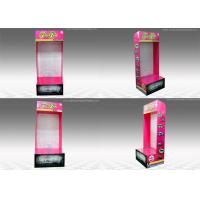 Buy Rectangle Sidekick Display Stand , Wall-mounted corrugated pop displays at wholesale prices