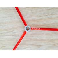 Quality Red and Green Color Anodized Aluminum Round Tube / Pipe Used For Tent for sale
