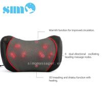 Quality One Button Control Electric Massage Pillow Homedics 3d Shiatsu Massage Pillow With Heat for sale