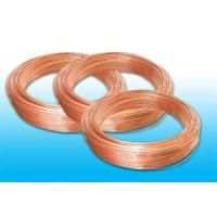 Quality Single Wall Cold Drawn Welded Tubes 4.2 * 0.6 mm , Copper Coated for sale