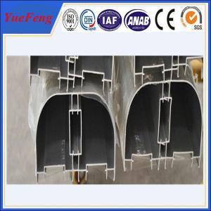 Quality round aluminium heat sink, Aluminium round tube profile, aluminium profile half round for sale