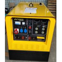 China 400A Diesel Welder Generator , Engine Driven Welding Machine With Dual Operator Capabilities on sale