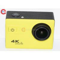 China 50hz  4k Sports Camera , Diving 30m Waterproof Video Camcorder 1050mah on sale