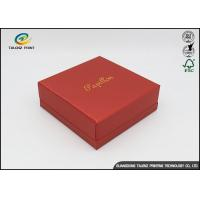 Quality Embossing Logo Customized Environmental Printing Cardboard Gift Boxes With Hot Stamping Surface Dispoal for sale