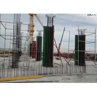 Quality Easy Connection Column Formwork Systems Steel Frame / ABS Coating Plywood Material for sale