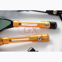 Quality rearview mirror motorcycle wholesale , china supplier export motorcycle rearview mirror , cnc motorcycle mirror for sale
