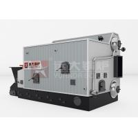 Central Heating Wood Fired Steam Boiler Double Drum Biomass Hot Water Boiler for sale