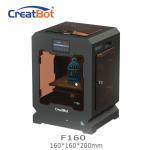 Quality Metal Frame Creatbot F160 Peek 3d Printter Single Extruder 3d Printer 160*160*200mm for sale