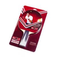 Color Handle Table Tennis Rackets with PVC Card Package Reverse Rubber