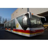 Quality 4 Stroke Diesel Engine Shuttle Bus To The Airport With Aluminum Apron for sale