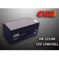 Quality HR1213W 12V 3.5AH High Rate Discharge Battery , Security Long Life Lead Acid Battery Rechargeable for sale