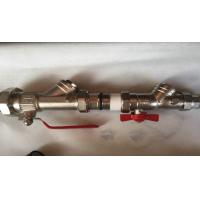 Quality Manual Water Brass Ball Valve For Gas Bolier With PPR Fittings for sale