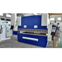 Quality 3.2M Long CNC Mechanical Press Brake Machine 125T Bending Capacity SS Processing for sale