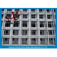 China 4x4 Stainless Steel Welded Wire Mesh Panels For Concrete Foundations on sale