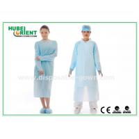 CPE Plastic Disposable Protective Gowns , Surgeon Medical Patient Gowns for sale