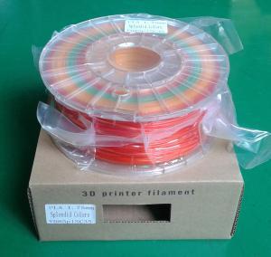 Quality 3 colors/spool spendid PLA filament for sale