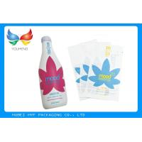 Buy Plastic PVC Heat Shrinkable Film Rolls Blow Molding Processing For Glass Bottle Labels at wholesale prices