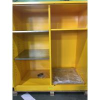 Quality Flammable Goods Storage Cabinets With Earthing Socket For Combustible Liquid / Paint for sale