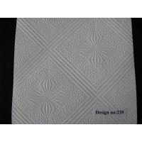 Quality PVC Laminated Gypsum Ceiling Tiles #239 for sale