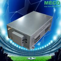 Quality 120Pa ESP ducted type fan coil units with plenum box and filter for sale