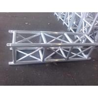 Quality Outdoor Party Aluminum Stage Truss Square Shape Silver / Black 400mm X 400mm for sale