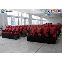 Quality Pneumatic / Hydraulic Control Movie Theater 4D Cinema System With Motion Chair for sale