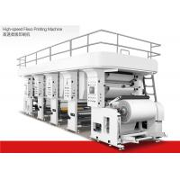 Quality Water Based Ink High Speed Flexographic Printing Machine 1200mm Max Material Dia for sale