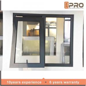 China Space Saving Aluminium Awning Windows With Heat Strengthened Glass metal awning windows replacement awning windows on sale