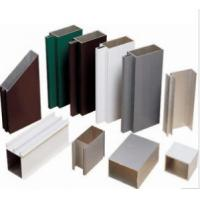 Quality Anodized 6063 Construction Aluminum Profile Extrusion Customized Sections for sale