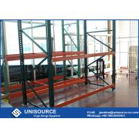 China Warehouse Teardrop Pallet Rack System Easy Assembly Heavy Duty Metal Shelving on sale