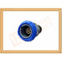 Quality Round Push Pull Female 4 Pin Circular Connector For Blood Pressure Monitors Endoscopes for sale
