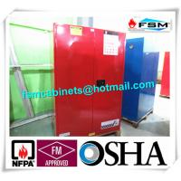 Quality 90 GAL Safety Fireproof Paint Storage Cabinets Dual Vents For Industrial / Chemical for sale