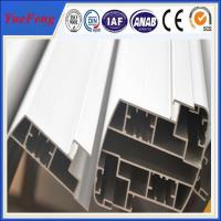 Quality extruded aluminum angle profiles , angle aluminium extrusions for window door  connecting for sale