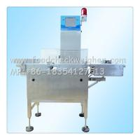 Quality China check weigher,checkweigher,weight checker machie professional manufacturer for sale