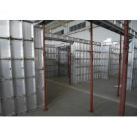 Quality Electrolytic Coated Aluminium Industrial Profile Low Carbon Emission Reduction for sale