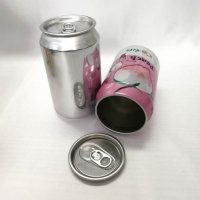 Quality Recyclable 202# 12oz 355ml Aluminum Beer Cans Cylindrical for sale