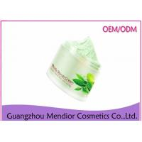 Quality Mint Extract Green Tea Natural Body Scrub For Skin Exfoliating / Oil Control for sale