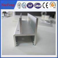 Quality 6000 series aluminium extrusion profile aluminum strip supplier, aluminum channel price for sale